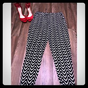 Pants - XL Black and White pants
